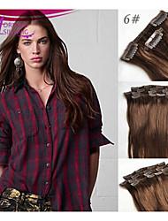 Indian Virgin Hair Clip In Human Hair Extension Clip In Human Hair