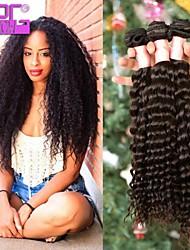 10-30inch en extension de cheveux de stock profonde d'onde de haute qualité brésilienne vierge humaine