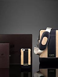 полноценная кожа бизнес телефон оболочки с модой сумки плюс jingmeilihe костюм для Iphone 6 плюс / 6S плюс