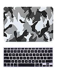 """2 em 1 fosco cristal superfície emborrachada cobertura caso difícil para MacBook Pro 13 """"/ 15"""" + tampa do teclado"""