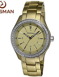 EASMAN® Watch 2015 Women Gold Titanium Aluminum Quartz Watches Zircon Water Resistance Ladies Wristwatches Watches Cool Watches Unique Watches