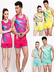Running Tank Women's Sleeveless Breathable / Quick Dry / Sweat-wicking Fitness / Racing / Leisure Sports / Badminton Sports Sports Wear