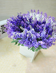 Lavender 10 Heads Silk artificial silk flower Lavender