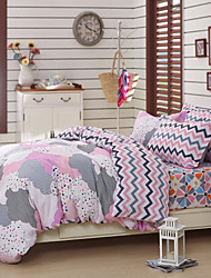 Yuxin®Cotton Twill Four Piece Active Printing Double Single Product Suite  Bedding Set