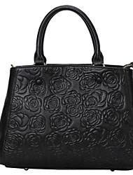 Handcee® Best Seller Flower Pattern Embossing Vintage Tote Bag