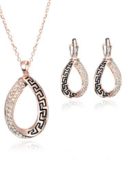 Fashion Pendant Jewelry Set include Necklace & Earrings