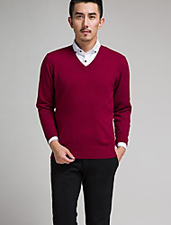 Men's Pure Cashmere , Cashmere Long Sleeve