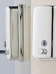 Дозатор для мыла Нержавеющая сталь Крепление на стену 200X120X70mm(7.8x4.7x2.7'') Нержавеющая сталь / Марочный ABS металл Современный