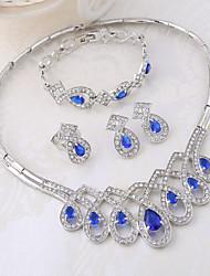 WesternRain Women's Alloy / Rhinestone Jewelry Set Multi-stone / Rhinestone