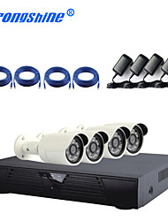 4CH  IP Camera Kit