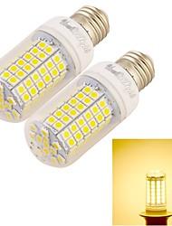 6W E26/E27 Ampoules Maïs LED T 96 SMD 5050 360 lm Blanc Chaud Décorative AC 100-240 V 2 pièces