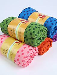 även Kang yogamatta handduk 2mm grön / blå / rosa / lila / orang pvc