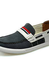 Men's Shoes Outdoor / Office & Career / Casual Suede Boat Shoes Blue / Yellow / Gray