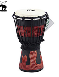 Sf Star of Africa  Indonesia Produce 7-Inch Carving Djembe-DPD30Hy