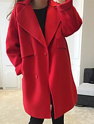 Women's Wool Woolen Cloth Coat