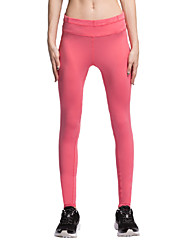 Vansydical® Women's Running Tights Running Breathable Red Vansydical Sports Wear
