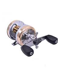 Haibo 4 Bearing Baitcast Fishing Reel Gear Ratio 5.5:1  Aluminum Body