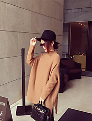 Women's Fashion Loose High Necked Sweater