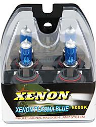 2 9006 HB4 6000k blanc halogènes faisceaux haute et basse phares au xénon ampoules de lampe