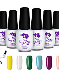 Sexy Mix 143 Colors Nail UV Gel Polish Color for Nail Art Decoration Design Set