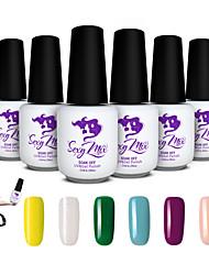 Sexy Mix 143 Colors Nail UV Gel Polish Color for Nail Art Decoration Design Set