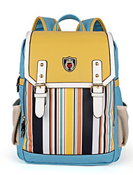 KAILIGULA  Classic striped backpack student bag