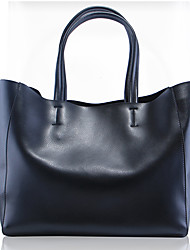 Paste® Most Popular Simple Design Genuine Leather Tote Bag