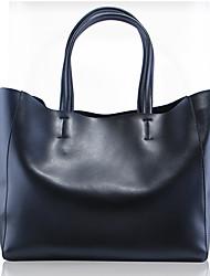 Paste® Most Popular Simple Design Genuine Leather Tote Bag