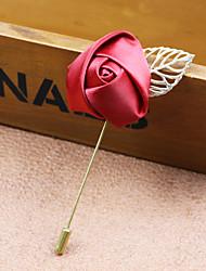 Муж. Женский Броши Мода бижутерия Ткань Сплав В форме цветка Роуз Бижутерия Назначение Свадьба Для вечеринок Особые случаи День рождения