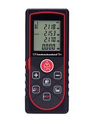 Genauigkeit ± 2 mm Laser-Entfernungsmesser 70m digitale Laser-Entfernungsmesser tape tool angulometer