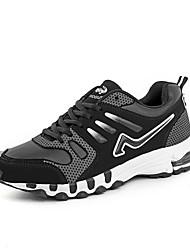 Sapatos Corrida Masculino Preto / Azul / Vermelho Courino