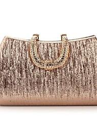Women PU Formal Evening Bag Gold / Silver / Black