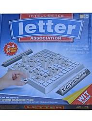 Inglês grupo de palavras apenas brinquedos jogo de quebra-cabeça mental,