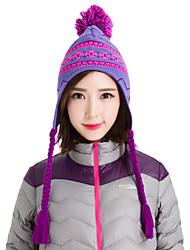 bonnet tricoté bonnet chaud snowboard hiver chapeaux de neige des femmes Makino 0113