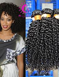 Malaysian Virgin Hair Kinky Curly Hair Unprocessed Human Hair Malaysian Afro Kinky Curly Virgin Hair 3 Bundles/Lot