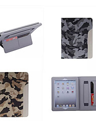 Ultrathin Camouflage Style Leather Case Fashion Cool With Belt Card Holder Case for ipad air 2/ipad 6