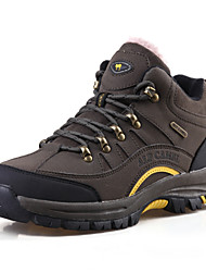 Men's Boots Outdoor Sport Hiking Boots Sneakers Plus Velvet Army green/Khaki