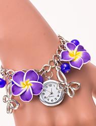 L.WEST Fashion High-end Restoring Ancient Ways Flower Bracelet Quartz Watch Cool Watches Unique Watches