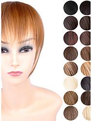 ty.hermenlisa clipe no cabelo bang calor sintético franja de cabelo fibra resistente extensões postiços, 1 pc, 25g