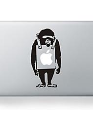 "Cartoon Monkey Design  Decorative Skin Sticker for MacBook  13"" Air/Pro"