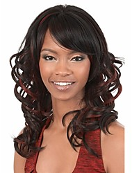 Newest  Style African Women Lady Synthetic Blend Color Hair Wigs