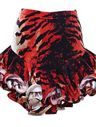 Tutus & Jupes ( Noire / Rouge / Rayures de tigre , Viscose , Costumes de Pom-Pom Girl ) Costumes de Pom-Pom Girl - pour Femme