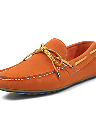 Men's Shoes Outdoor / Office & Career / Party & Evening / Casual  Boat Shoes Black / Blue / Navy / Orange