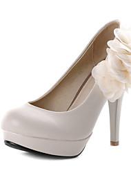 Women's / Girl's Wedding Shoes Heels Heels Wedding / Office & Career / Party & Evening / Dress Black / Beige