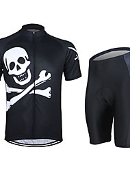 Cycling Jersey with Shorts Unisex Short Sleeve Bike Breathable / 3D Pad / Reflective StripsJersey / Jersey + Shorts / Arm Warmers /