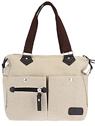 Women Canvas Handbag Large Capacity Casual Shopping Travel Crossbody Bag Shoulder Messenger Bag