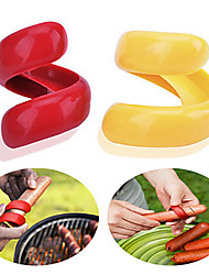 Manual Hot Dog Slicer  Cutting BBQ Fancy Sausage Cutter Kitchen Spiral Cutting Tools 2PCS