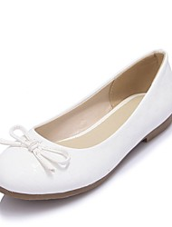 Girls' Shoes Outdoor / Party & Evening / Athletic / Dress / Casual Round Toe Leatherette Flats Pink / White / Almond