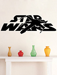 W-19Star Wars Wall Art Sticker Wall Decal DIY Home Decoration Wall Mural Removable Bedroom Sticker