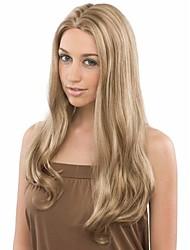 sellling caliente rubias extensiones pelucas onda pelo sintético hermoso estilo y el precio más barato